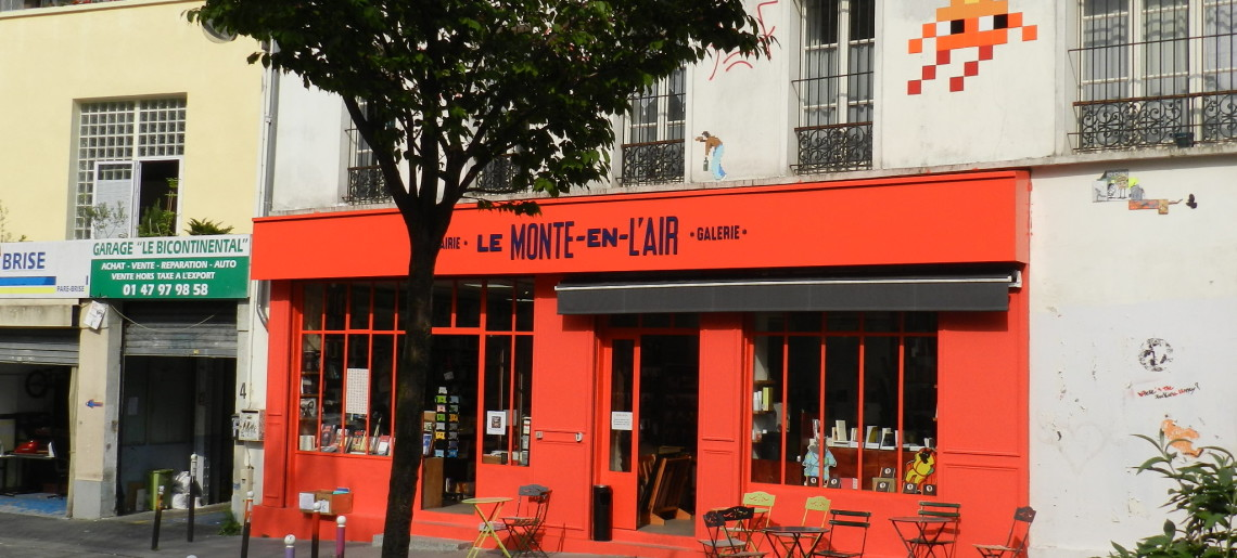 Librairie #01 : Le Monte en l'air